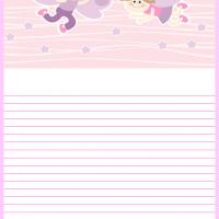 Butterfly Kids Stationery