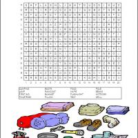 Printable Camping Word Search - Printable Word Search - Free Printable Games