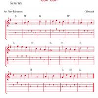 Can Can By Offenbach Guitar Tab