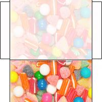 Printable Candies Envelope - Printable Card Maker - Free Printable Cards