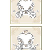 Printable Carriage Place Card - Printable Place Cards - Free Printable Cards