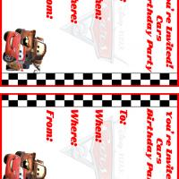 Printable Cars Birthday Party Invitation - Printable Birthday Invitation Cards - Free Printable Invitations