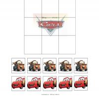 Printable Cars Tic Tac Toe - Printable Board Games - Free Printable Games