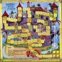 Printable Castle Board Game - Printable Board Games - Free Printable Games