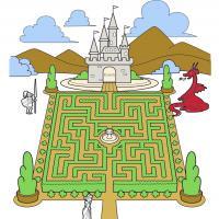 Castle Garden Maze