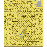 Printable Cat And Mouse Maze - Printable Mazes - Free Printable Games
