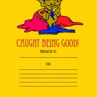Caught Being Good Award