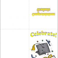 Printable Celebrate - Printable Graduation Cards - Free Printable Cards