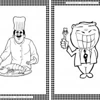 Chef and Dentist Flash Cards
