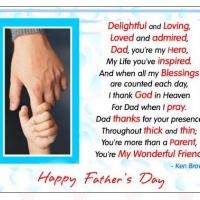 Printable Child Holding Dad's Finger - Printable Fathers Day Cards - Free Printable Cards