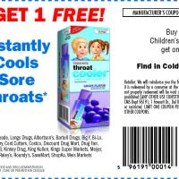 Printable Children's Throat Cooler Buy One Take One - Printable Grocery Coupons - Free Printable Coupons