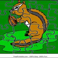 Chipmunk Jigsaw Puzzle