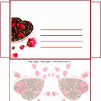 Printable Choco Valentine Envelope - Printable Card Maker - Free Printable Cards