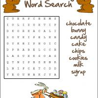 Chocolate Word Search