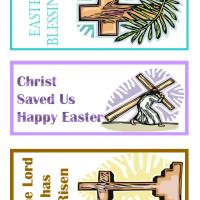 Printable Christian Easter Bookmarks - Printable Bookmarks - Free Printable Crafts
