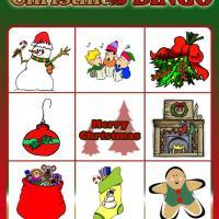 Christmas Bingo Card 1