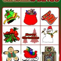 Printable Christmas Bingo Card 2 - Printable Bingo - Free Printable Games