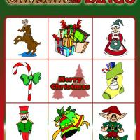 Christmas Bingo Card 3
