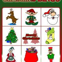 Printable Christmas Bingo Card 4 - Printable Bingo - Free Printable Games
