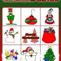 Printable Christmas Bingo Card 5 - Printable Bingo - Free Printable Games