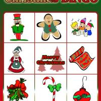 Printable Christmas Bingo Card 6 - Printable Bingo - Free Printable Games