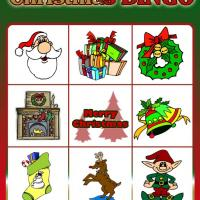 Printable Christmas Bingo Card 7 - Printable Bingo - Free Printable Games