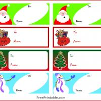 Printable Christmas Gift Labels - Printable Labels - Misc Printables
