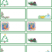 Printable Christmas Gift Tags - Printable Stationary - Free Printable Activities