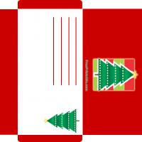 Christmas Tree Money Card Envelope