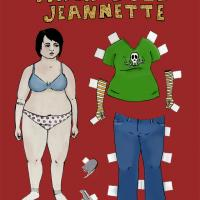 Chubby Jeannette Paper Doll