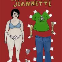 Chubby Jeannette Paper Doll
