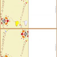 Circus Clown Gift Cards