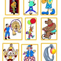 Printable Circus Stickers - Printable Stationary - Free Printable Activities