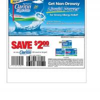 Printable Claritin Save $2 on Purchase of 20 or More Items - Printable Grocery Coupons - Free Printable Coupons
