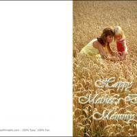 Printable Classic Mother And Daughter - Printable Mothers Day Cards - Free Printable Cards