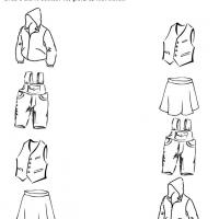 Printable Clothing Like Items Recognition - Printable Preschool Worksheets - Free Printable Worksheets