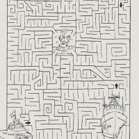 Printable Coast Guard Maze - Printable Mazes - Free Printable Games