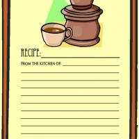Printable Coffee - Printable Recipe Cards - Misc Printables