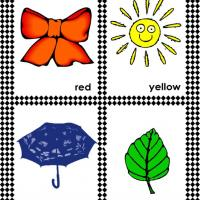 Printable Color and Object Flash Cards - Printable Flash Cards - Free Printable Lessons