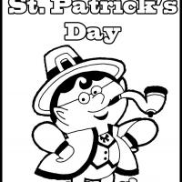Printable Color the Leprechaun - Printable Coloring Sheets - Free Printable Coloring Pages
