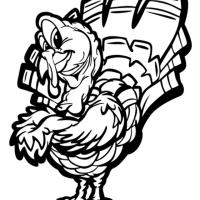 Printable Color the Turkey - Printable Coloring Sheets - Free Printable Coloring Pages