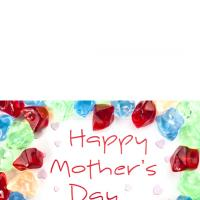 Printable Colored Stones for Mom - Printable Mothers Day Cards - Free Printable Cards