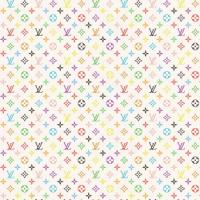 Colored Vuitton Paper