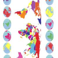 Printable Colorful World Map - Printable Maps - Misc Printables