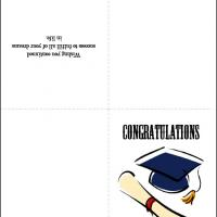 Printable Congratulations Greeting - Printable Graduation Cards - Free Printable Cards