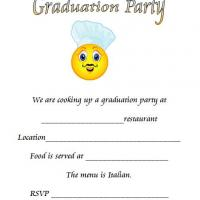 Cooking Up A Graduation Party