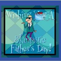 Printable Cool Dancing Father - Printable Fathers Day Cards - Free Printable Cards