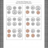 Printable Counting Change Worksheet - Printable Classroom Lessons - Free Printable Lessons