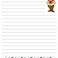 Printable Cub Scout Writing Paper - Printable Stationary - Free Printable Activities