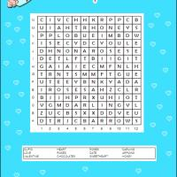 Printable Cupid Word Search - Printable Word Search - Free Printable Games